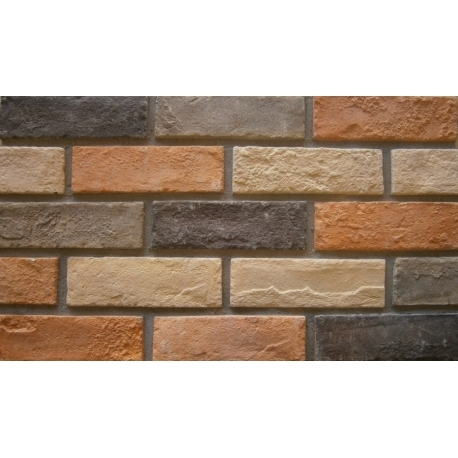 Decorative brick HSIC-21 MULTI συσκευασία 1Μ2