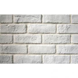 Decorative brick HSIC-00 WHITE ΛΕΥΚΟ 1M2/box