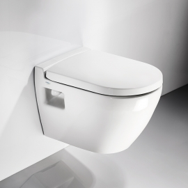 Wall mounted toilet Smart - 52cm SM 2600 RIMLESS