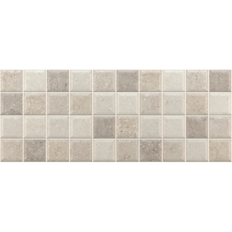 Concrete decor mosaico grey 20x50 1M2/κιβώτιο