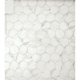 Statuario Hexagon 30.8x30.8, 1.28M2/box