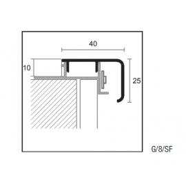 Βάση αλουμινίου G/8B/10 84215, 2.70 τρ. μ.