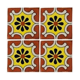Arabesque Terracotta 10x10