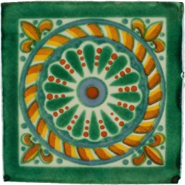 Arabesque Verde 10x10
