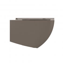 Wall mounted toilet Lenta - 53cm Taupe Matt