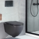 Wall mounted toilet Lenta - 53cm Antracite Matt