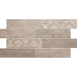 Wall Tile Damask Brown 30x55 1.32M2/box