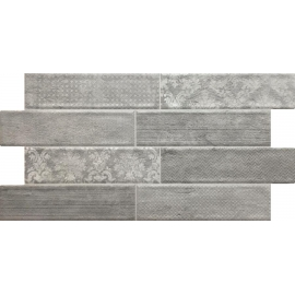 Wall Tile Damask Grey 30x55 1.32M2/box
