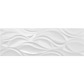 Wall Tile Narval White  Mate 30x90 1.08M2/box