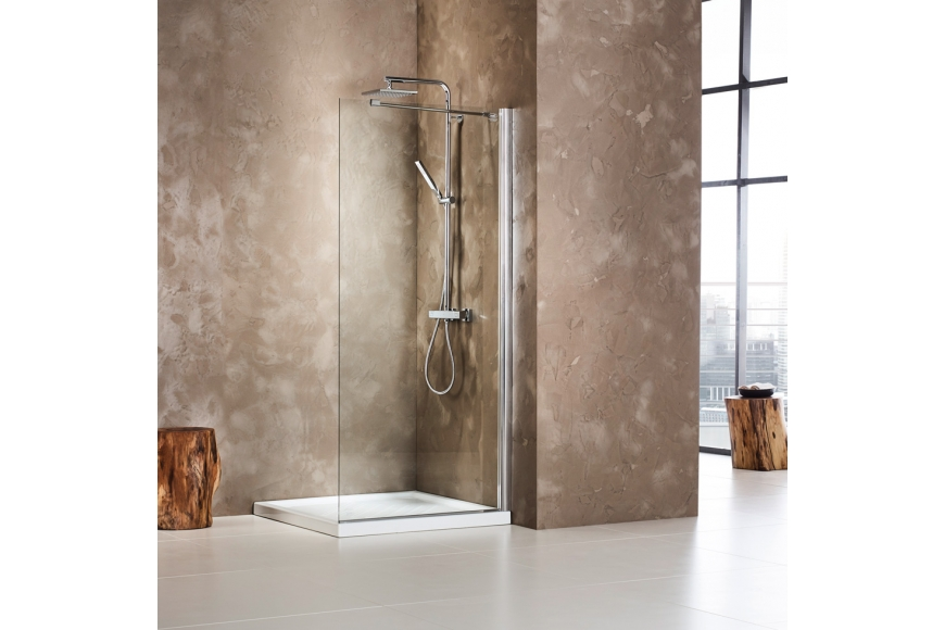 Choose your perfect glass shower panels  in 3 simple steps